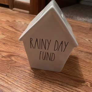 Rae Dunn Rainy Day Fund Bank